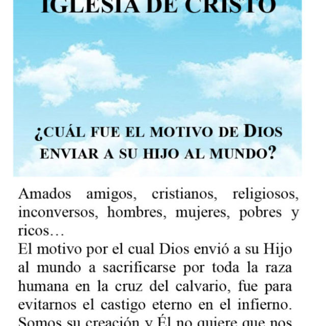 Iglesia de Cristo – tratado